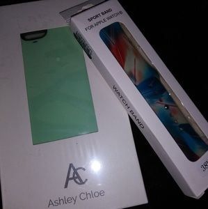 Apple watch 38mm band and Iphone 6 case